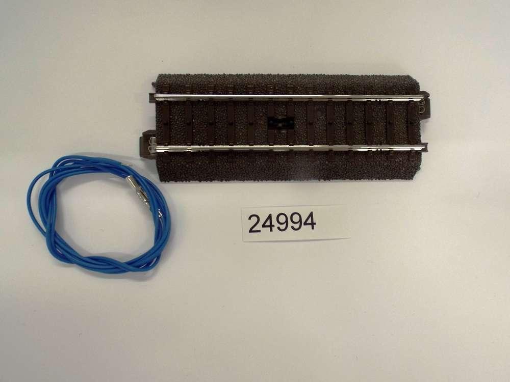 OVP Märklin H0 24994 C-Gleis Schaltgleis gerade Länge 94,2 mm NEU