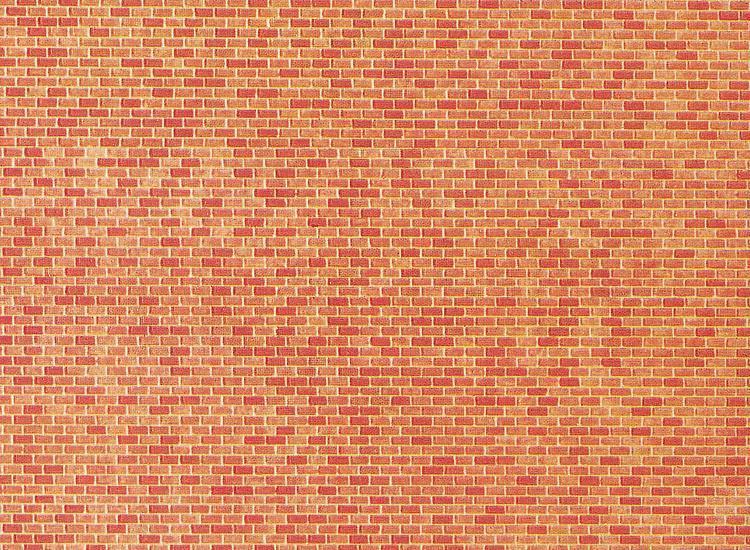 Faller Mauerplatte Backstein