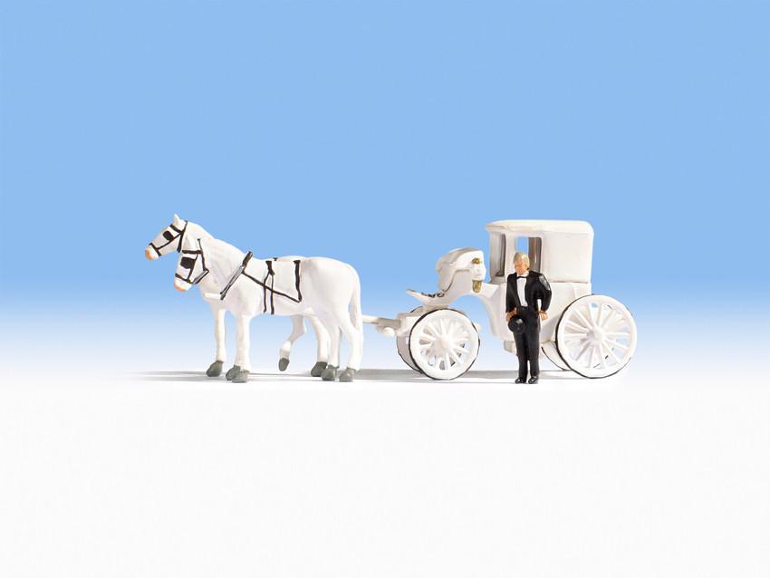 NOCH 16706 H0 Hochzeitskutsche