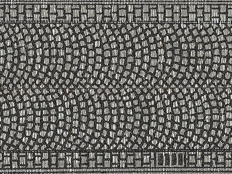 Noch Spur N 34070 Kopfsteinpflaster 100 x 3 cm aufgeteilt in 2 Rollen