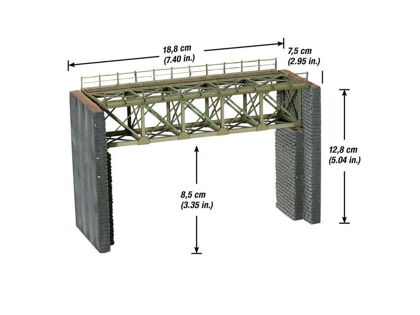 Noch 67032 H0 Brückenpfeiler