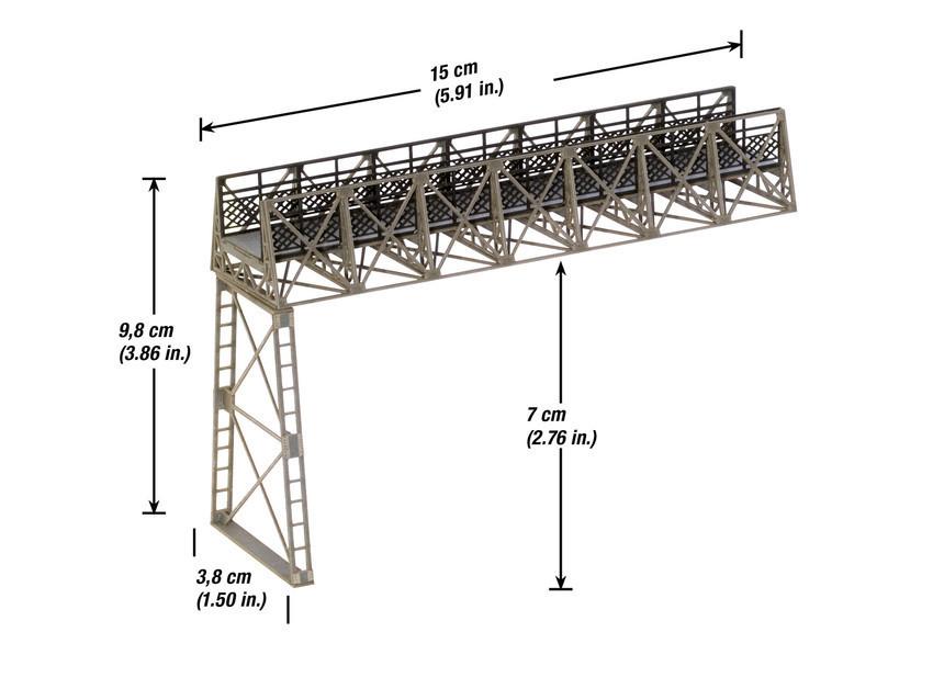 Noch 67071 H0 Fußgängerübergang variabel Ergänzungsbausatz