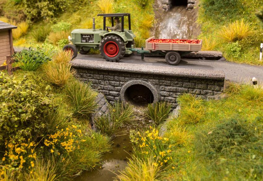 "NOCH 58296 H0 Wasserdurchlass /""Tunnel/"""