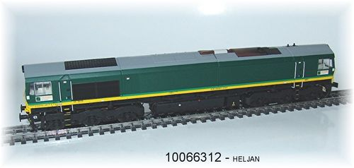 HELJAN 10066312 Diesellok Class 66 Ascendos Rail Leasing AC digital