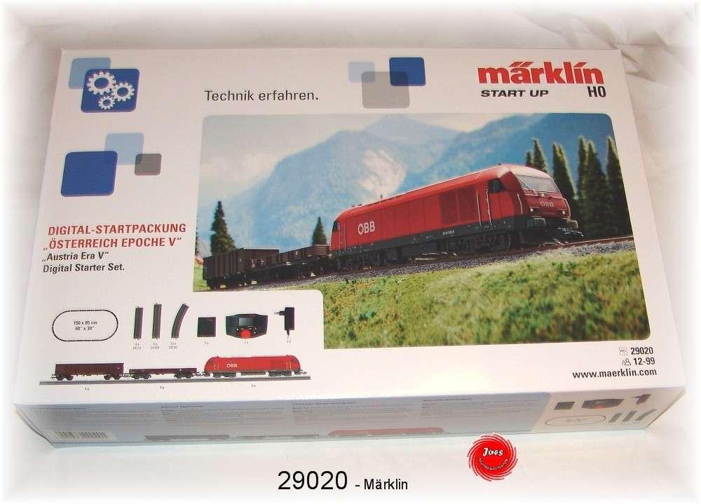 """Märklin 29020 Digital-Startpackung /""""ÖBB/"""" Epoche V mit MS 60657 #NEU in OVP#"""