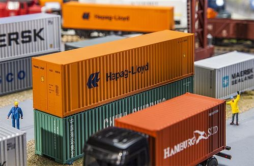 FALLER 180841 Spur H0 40' Hi-Cube Container Hapag Lloyd