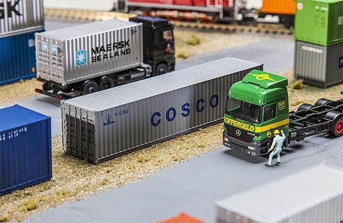 FALLER 180845 Spur H0 40' Container COSCO