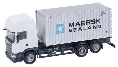 Faller 161598 HO Car System LKW Scania R 13 TL Seecontainer (HERPA)
