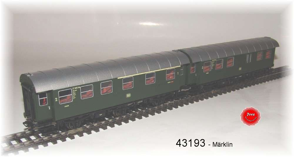 Fahrzeug M/ärklin 43173 Umbauwagenpaar 1.//2.Kl.+2.Kl.DB