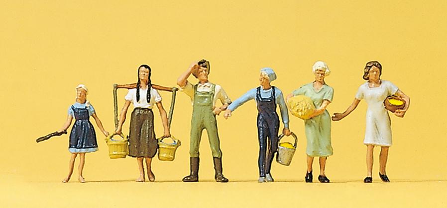 10050 Wäscherinnen Figuren Preiser H0