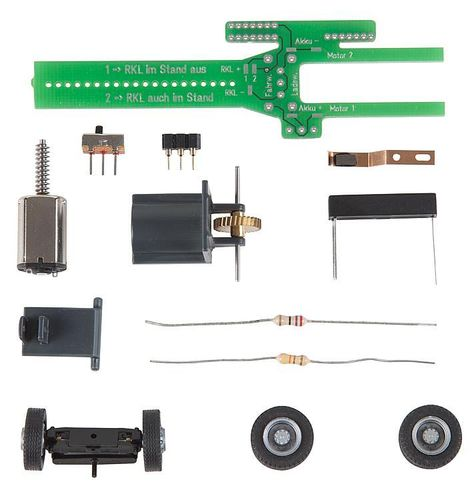 Faller 163703 HO Car-System Chassis-Kit Bus, LKW