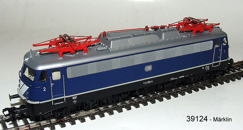 Märklin 39124 E-Lok BR 110.3 der DB mfx+-Decoder Soundfunktionen
