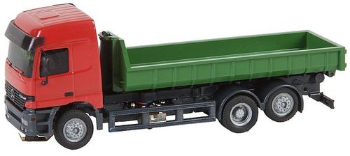 Faller 161481 Spur HO Car System LKW MB Actros L`02 Abrollcontainer (Herpa)