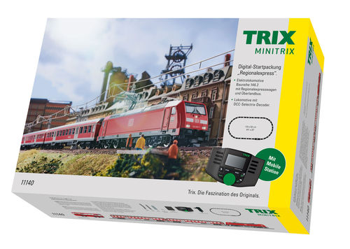 "Trix 11140 Digital-Startpackung ""Regionalexpress""  mit MS 66955"
