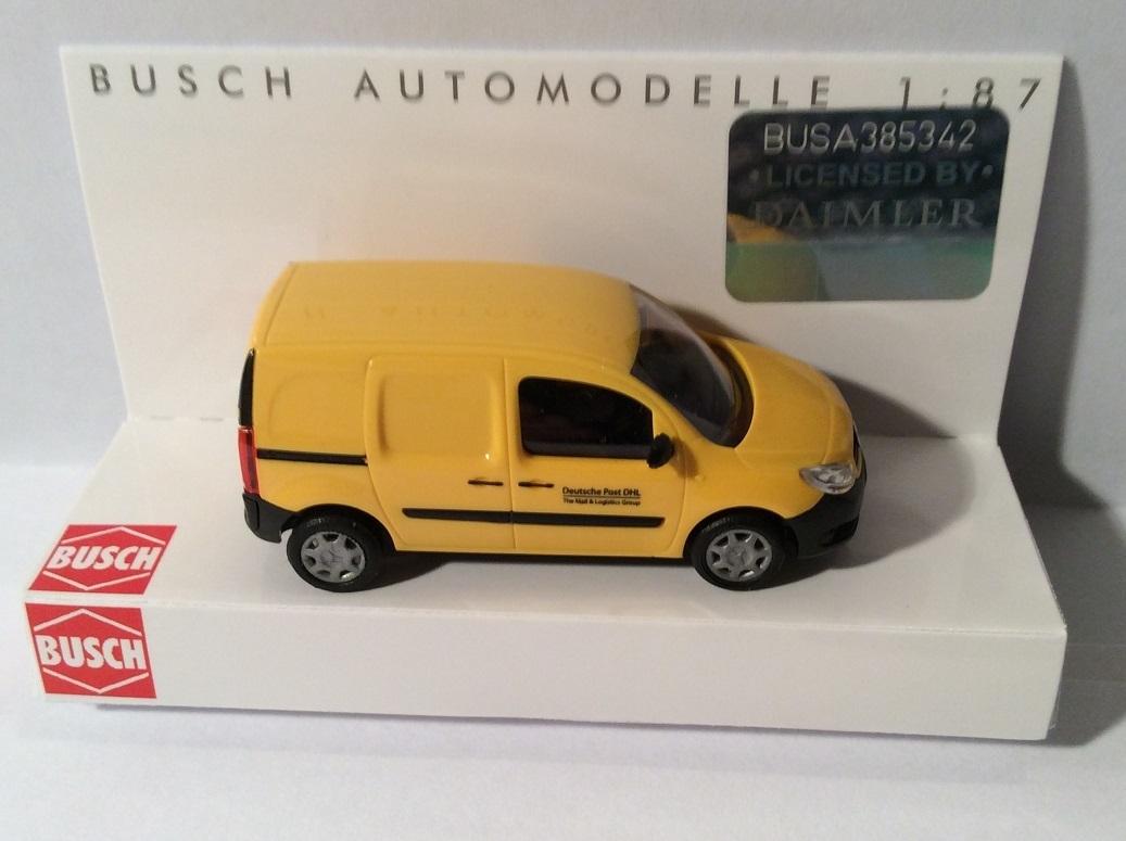 Busch 50615 MB Citan Kasten DHL