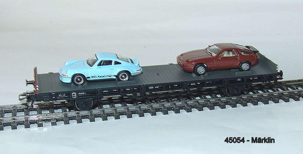 """Märklin 45052 Autotransportwagen /""""70 Jahre Porsche-Sportwagen 2/"""""""