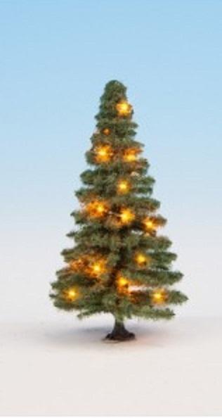 NOCH H0//TT//N 22110 Beleuchteter Weihnachtsbaum verschneit mit 10 LEDs NEU OVP