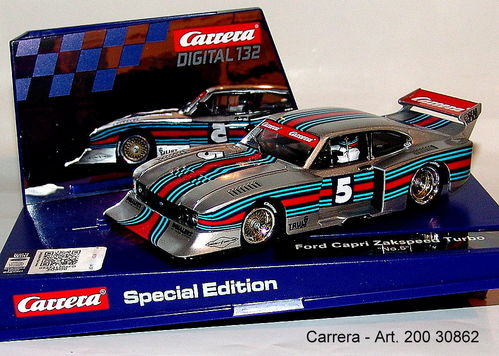 CARRERA 20030862 DIGITAL 132 EVOLUTION Ford Capri Zakspeed Turbo