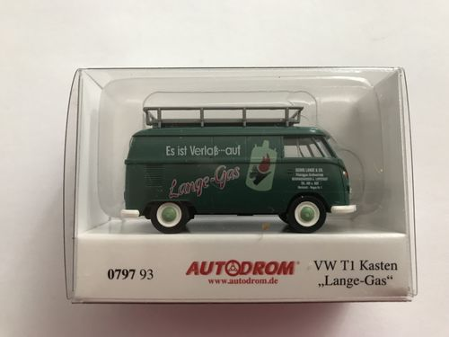"WIKING 079793 1:87 VW T1 Kastenwagen ""GEORG LANGE & CO."""
