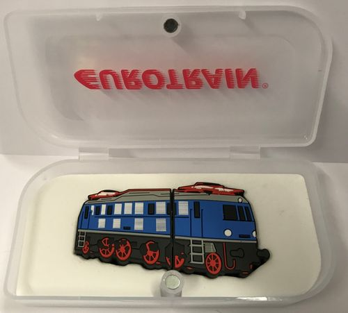 EUROTRAIN 110-21118 16 GB USB-Stick Elektrolokomotive Sammleredition 2018