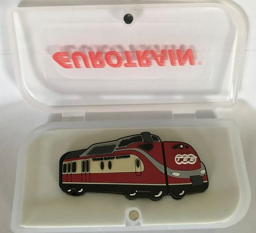 Eurotrain 110-21117 8 GB USB-Stick 2017 in Form des TEE