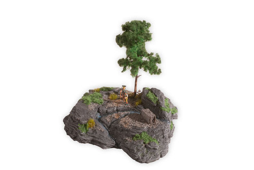 "Noch 10012 Diorama Kit ""Rocky Mountain"""