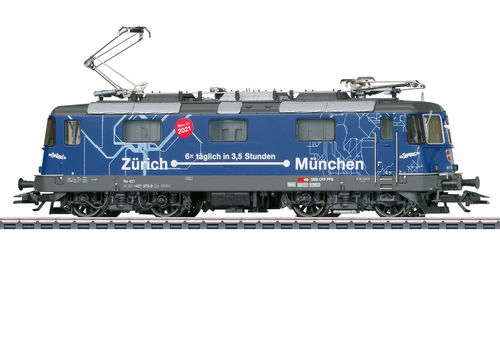 Märklin 37473 E-Lok Re Re 421 der SBB mfx+-Decoder Sound